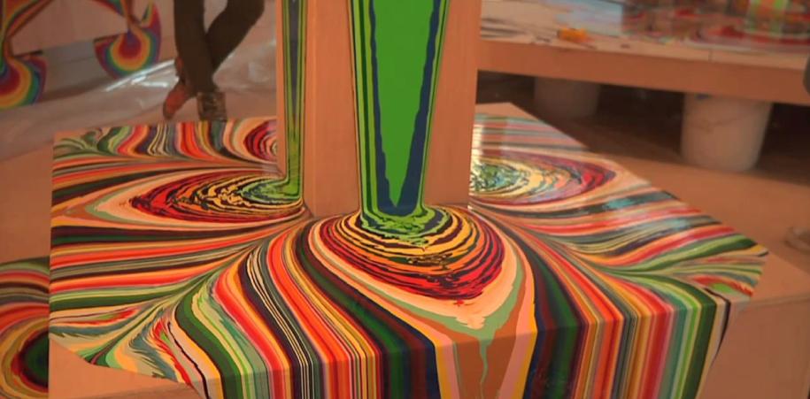 Holton Rower es el autor de estas magníficas piezas. Hipnotizantes, singulares y hermosas.