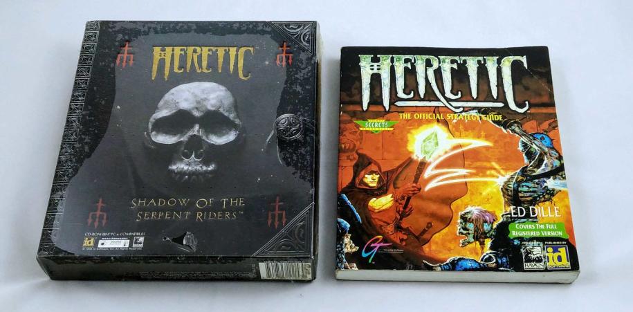 """""""Heretic"""" nos convirtió en los héroes trasnochados de un universo arcano, lleno de horrores y de magia. Pero fuimos héroes al fin y al cabo..."""