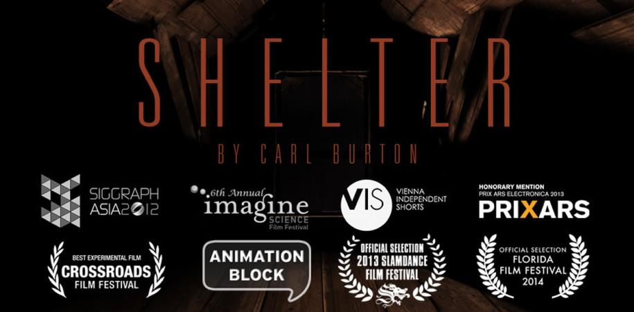"""""""Shelter"""" una magnífica pieza visual del artista y animador digital Carl Burton. Una odisea del sentido inverso -que no es el sinsentido, sino la paradoja-. ¡Disfruta!"""