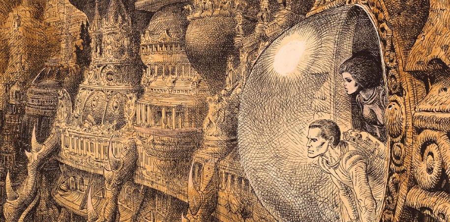 La intrigante complejidad de los cómics de Moebius (Jean Giraud) parece un juego de espejos, un viaje donde lo que menos interesa es la meta sino el camino.